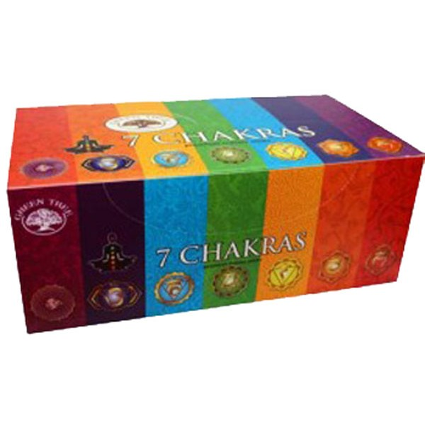 INCENSO INDIANO SATYA GREEN TREE - 7 CHAKRAS
